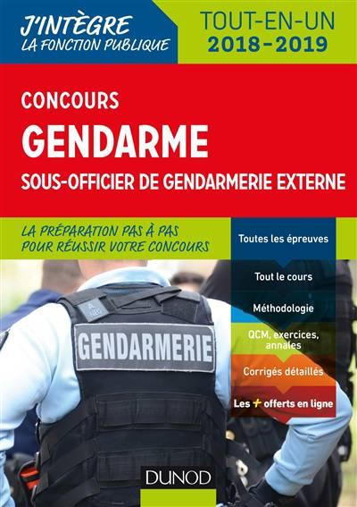Le concours gendarme sous-officier externe - Benoît Priet,Catherine Baldit-Dufays,Marie-Annik Durand,Rénald Boismoreau