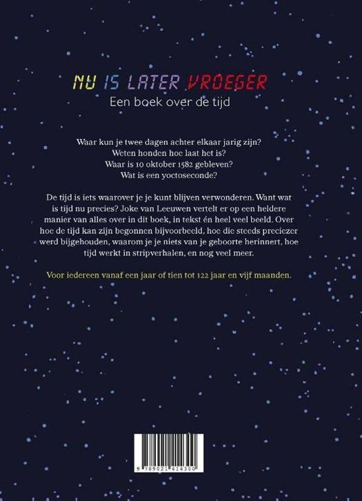 Verwonderend Nu is later vroeger - Joke van Leeuwen | 9789021414300 | Standaard HW-48
