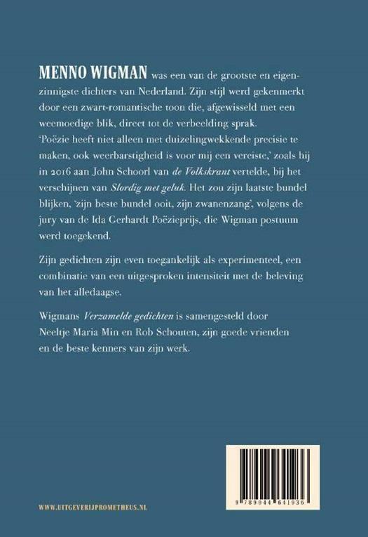 Verzamelde Gedichten Standaard Boekhandel