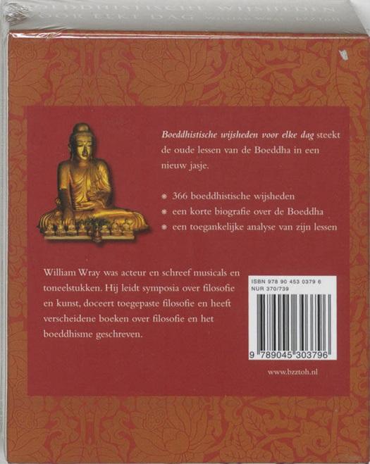 Boeddhistische Wijsheden Voor Elke Dag Standaard Boekhandel