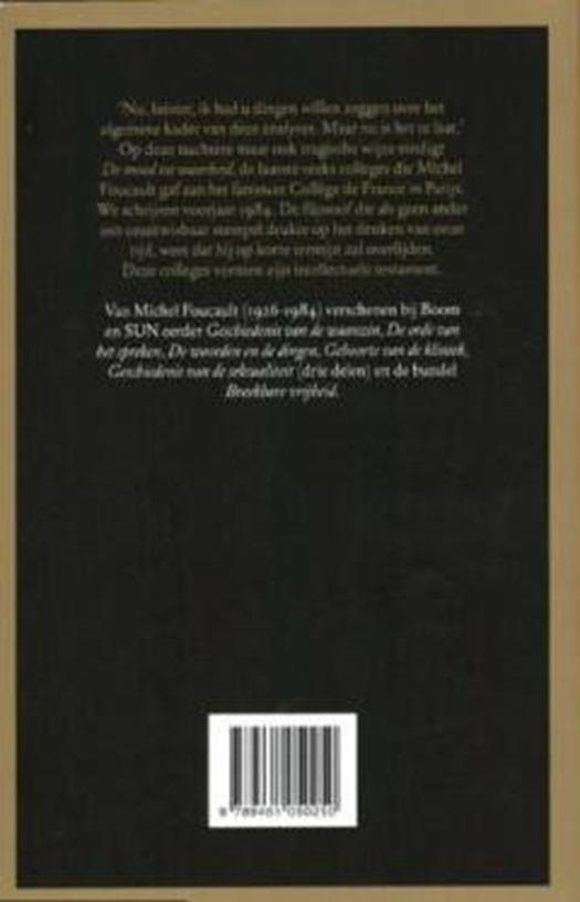 De Moed Tot Waarheid Standaard Boekhandel