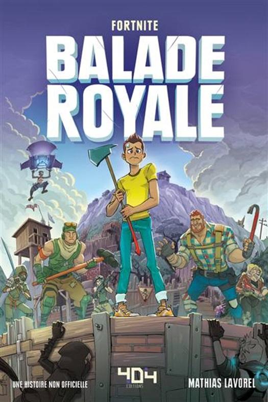 Livre De Coloriage Fortnite.Balade Royale Fortnite Une Histoire Non Officielle Club