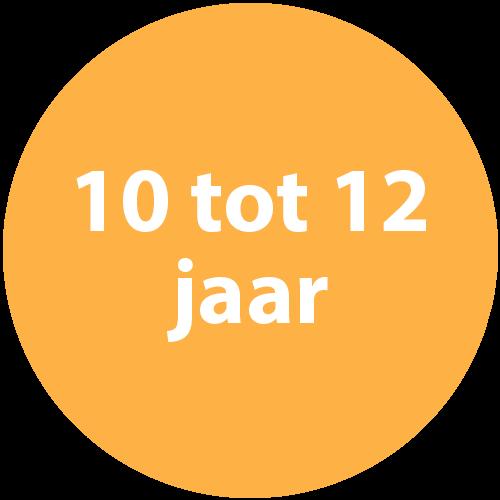 10 tot 12 jaar