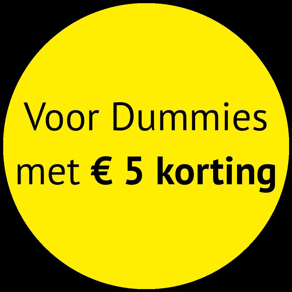 Voor Dummies met €5 korting