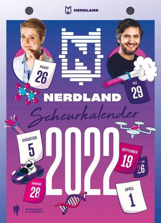 Nerdland scheurkalender 2022