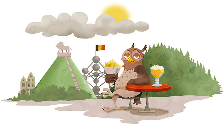 Boekje vakantie naar België