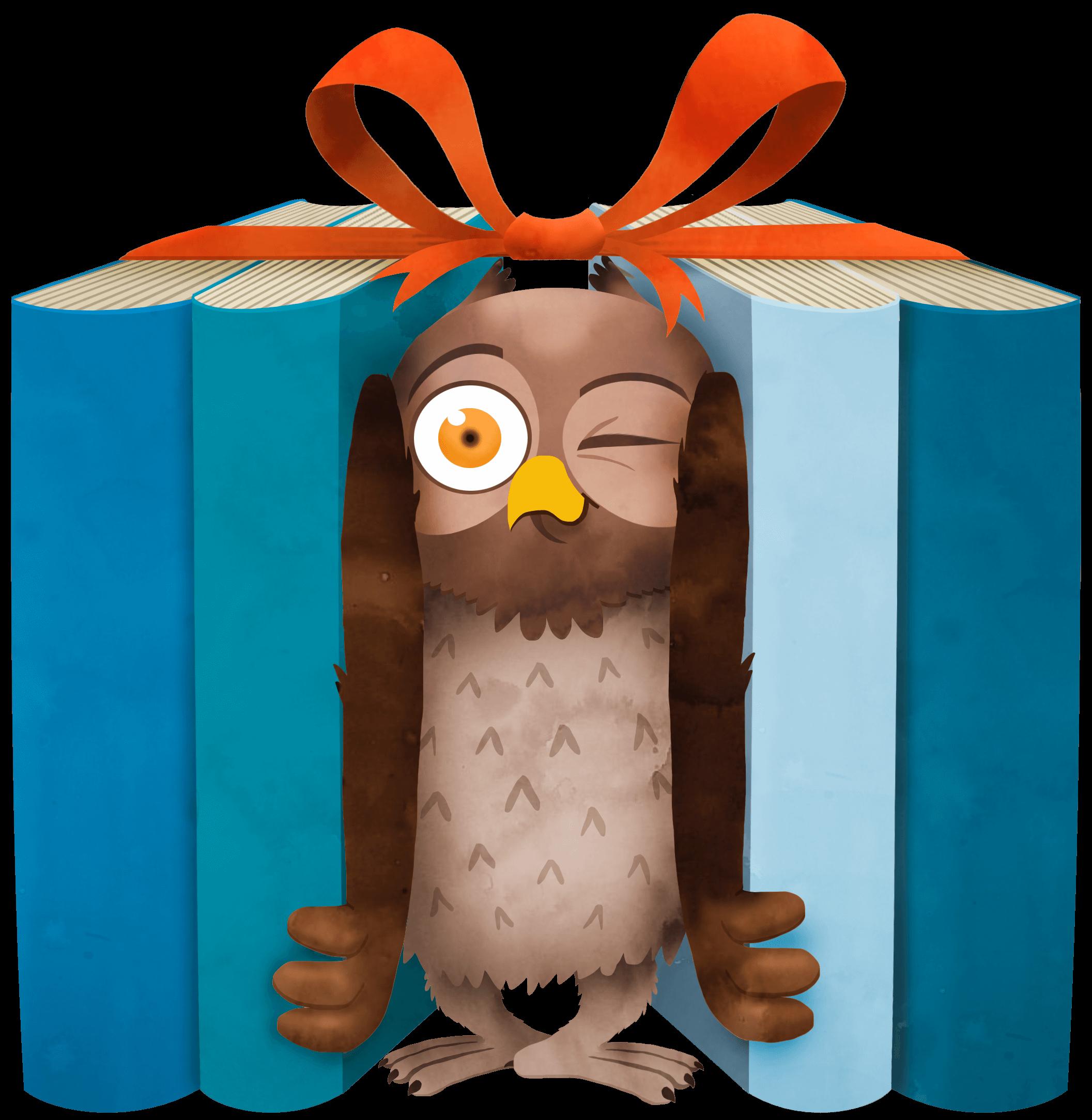 Geschenken doen aan boeken denken