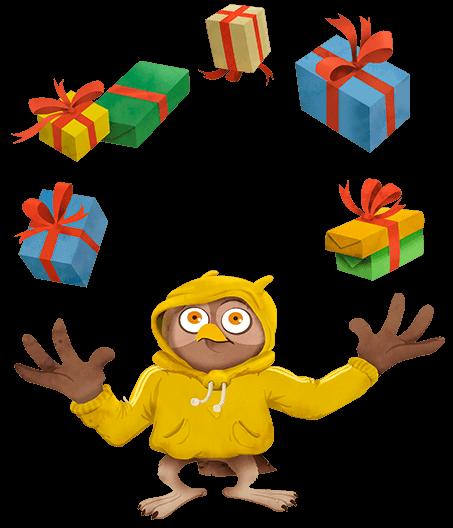 Geschenken voor jongeren