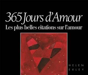 365 Jours D Amour Sante Relations Developpement Personnel 9782873885625 Club