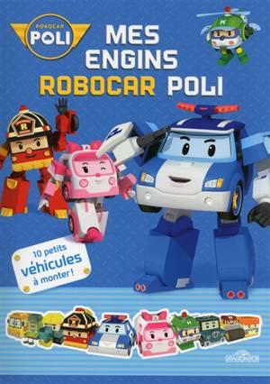 Mes Engins Robocar Poli 9782878819984 Club